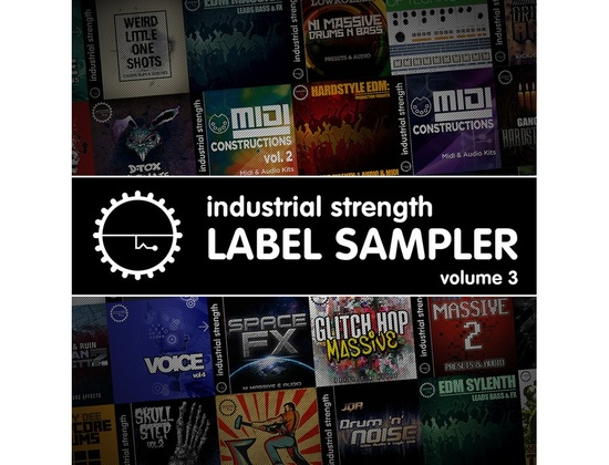 Industrial Strength Label Sampler Vol. 3
