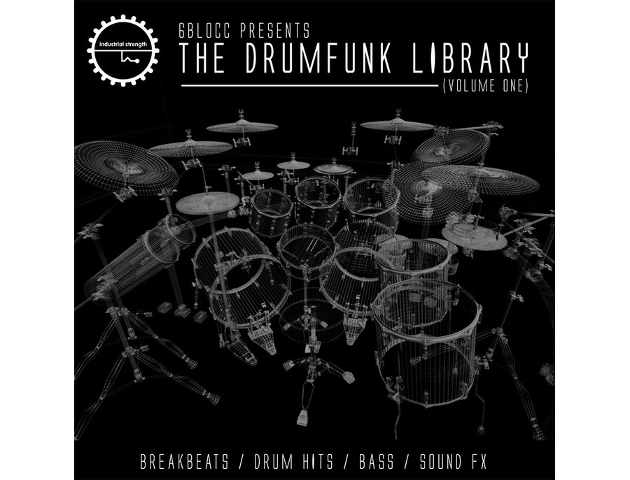 Industrial Strength 6Blocc Presents The Drum Funk Library