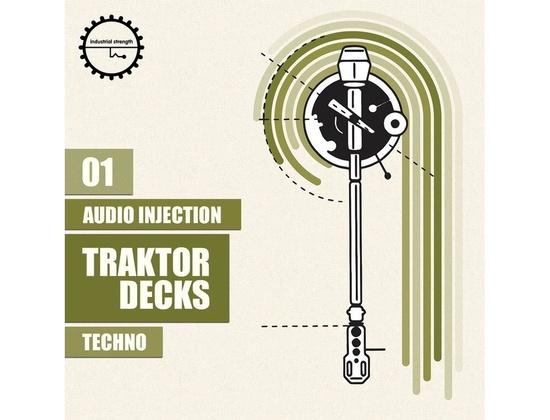 Industrial Strength Audio Injection  Traktor Decks - Techno