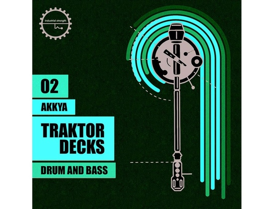 Industrial Strength Akkya Traktor Decks - Drum & Bass