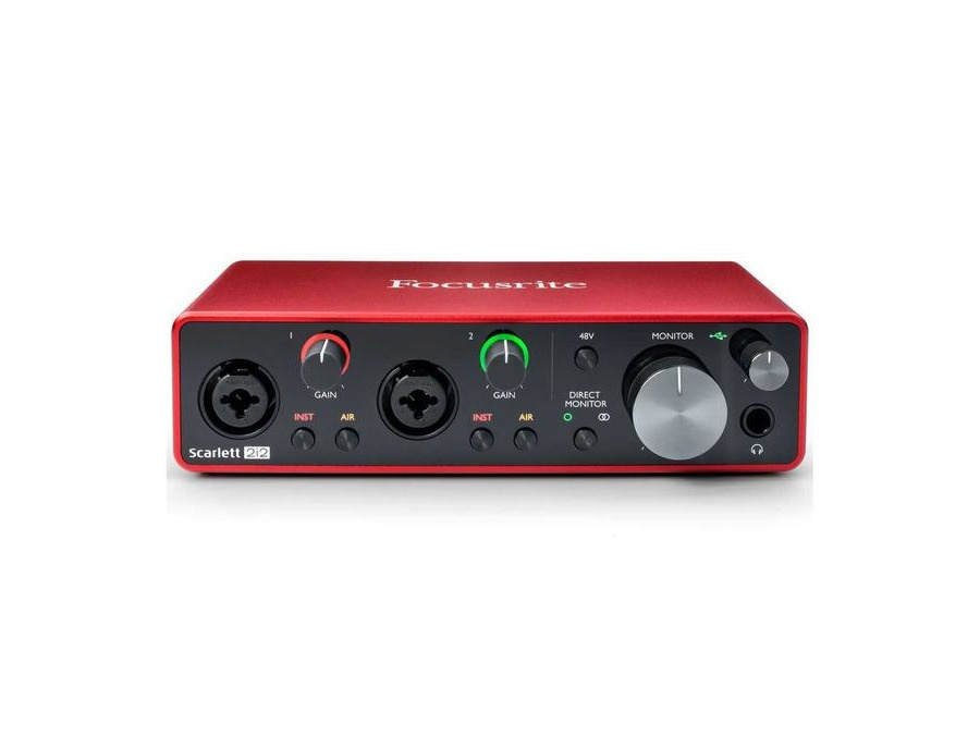 Focusrite Scarlett 2i2 USB Audio Interface