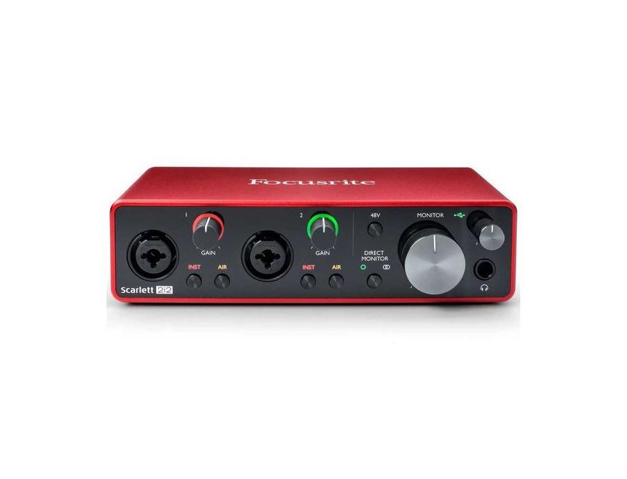 Focusrite scarlett 2i2 usb audio interface xl