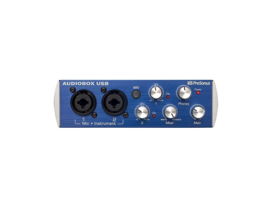Presonus audiobox usb 2x2 audio recording interface xl