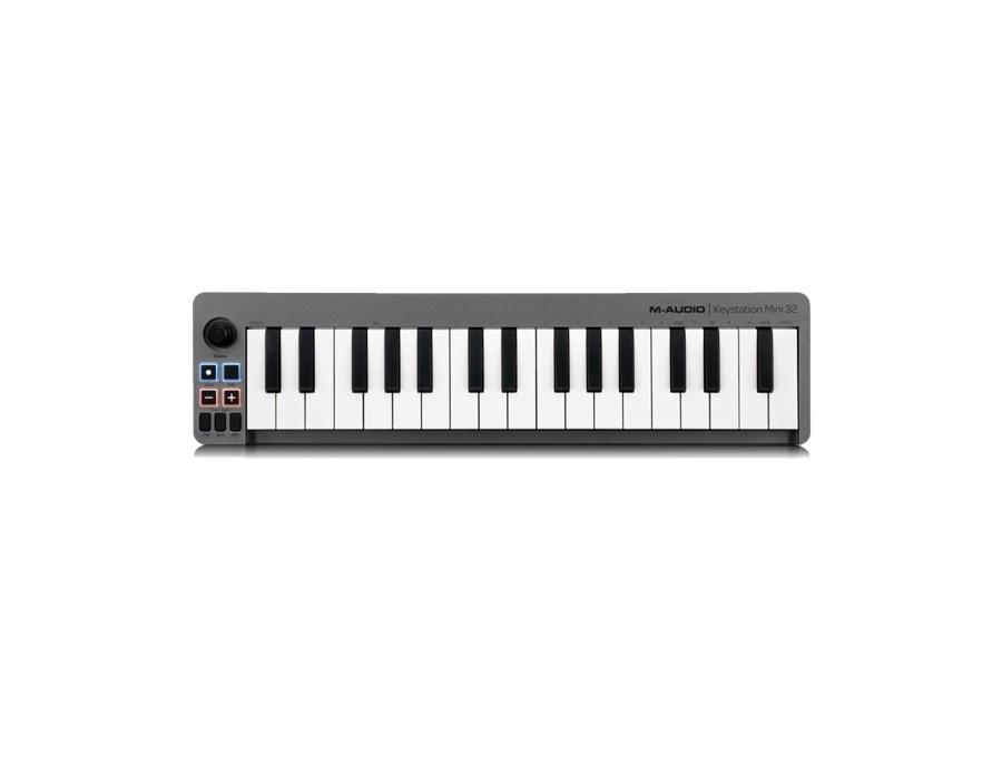 M audio keystation mini 32 ultra portable usb midi keyboard controller xl