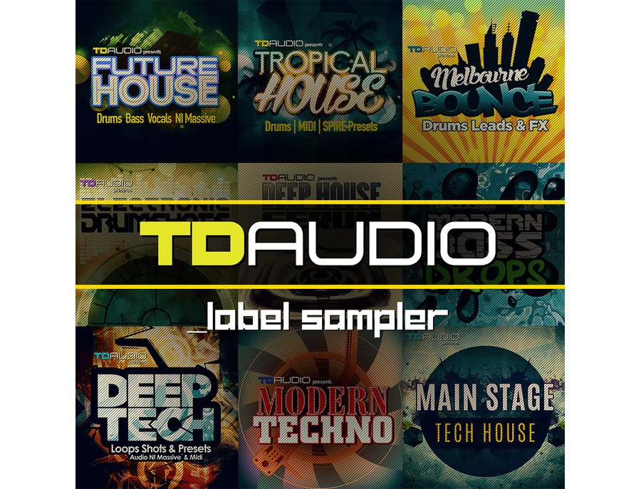 Industrial Strength TD Audio Label Sampler