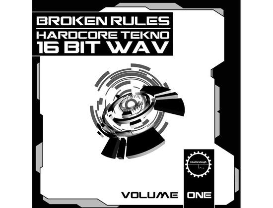 Industrial Strength Broken Rules Hardcore Tekno