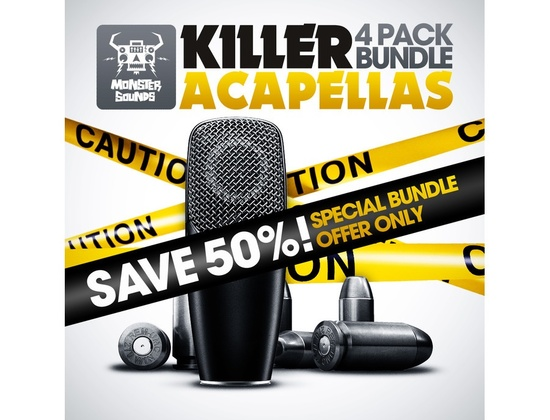Monster Sounds Killer Acapellas Bundle