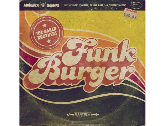 Monster Sounds The Baker Brothers Vol. 4 - Funk Burger