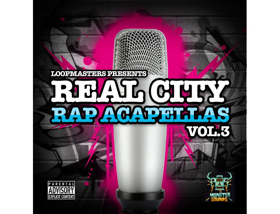 Monster Sounds Real City Rap Acapellas Vol. 3