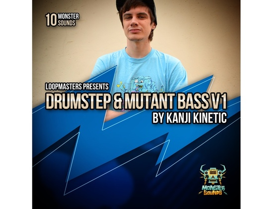 Monster Sounds Kanji Kinetic Presents Drumstep & Mutant Bass V1