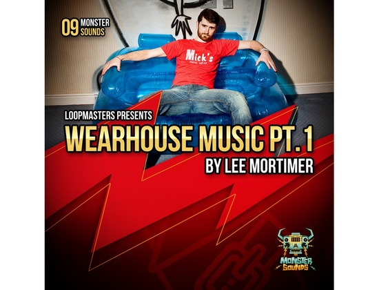 Monster Sounds Lee Mortimer - Wearhouse Music