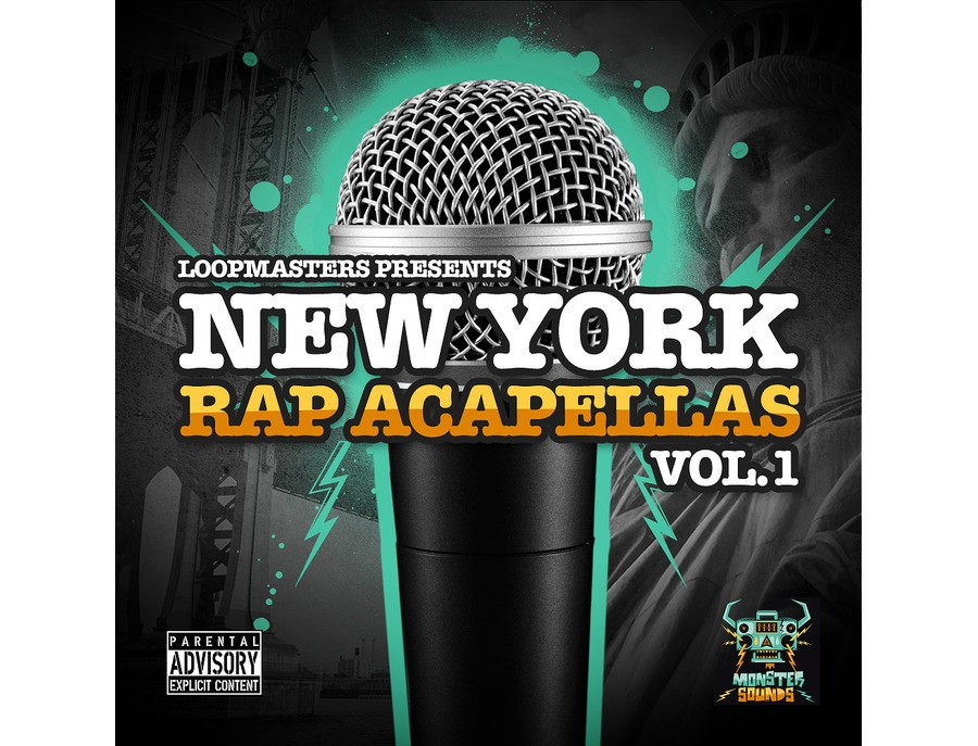 Monster Sounds New York Rap Acapellas Vol 1