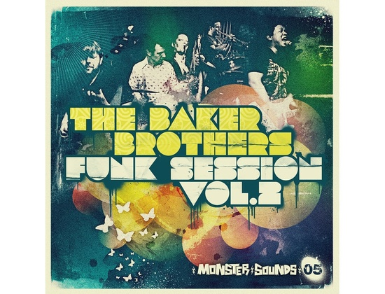 Monster Sounds Baker Brothers Funk Session Vol 2