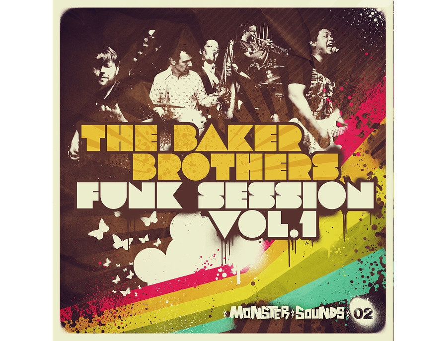 Monster Sounds Baker Brothers Funk Session Vol. 1