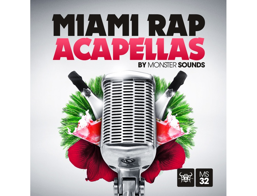 Monster Sounds Miami Rap Acapellas