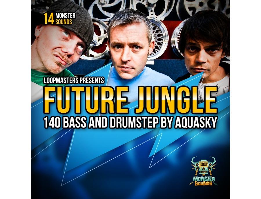 Monster Sounds Aquasky - Future Jungle & Drumstep