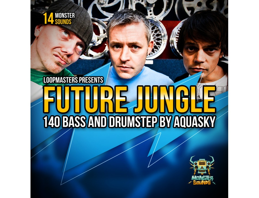 Monster Sounds Aquasky - Future Jungle & Drumstep