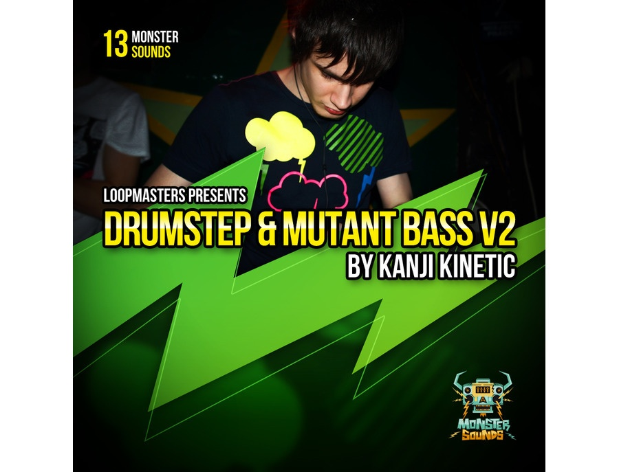Monster Sounds Kanji Kinetic - Drumstep and Mutant Bass Vol 2