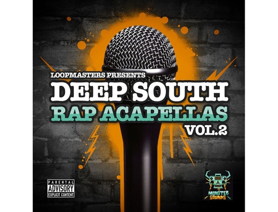 Monster Sounds Deep South Rap Acapellas Vol. 2