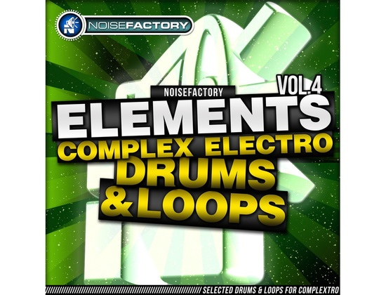 Noisefactory Elements Vol. 4 - Complex Electro Drums & Loops