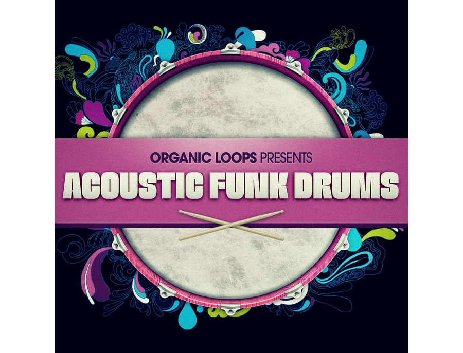 Organic Loops Acoustic Funk Drums