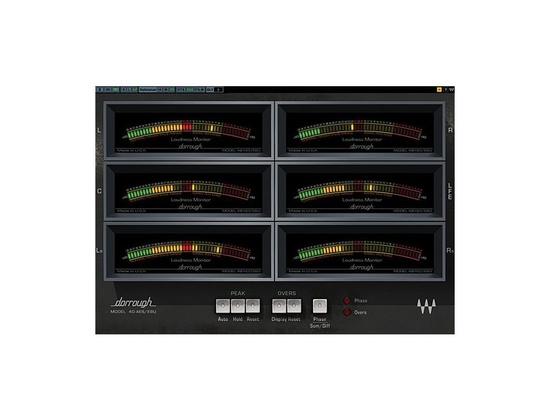 Waves Dorrough Surround Meter Software Plugin