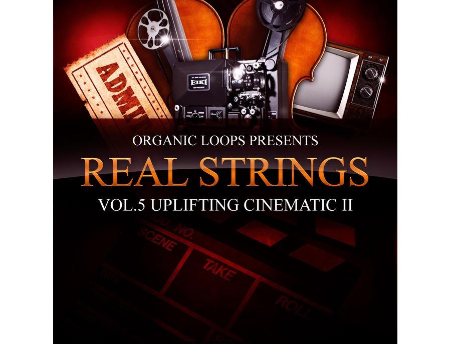 Organic Loops Real Strings Vol. 5 - Uplifting Cinematic Strings Part 2
