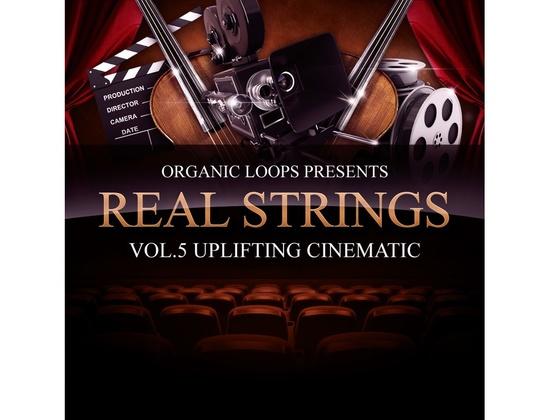 Organic Loops Real Strings Vol. 5 - Uplifting Cinematic