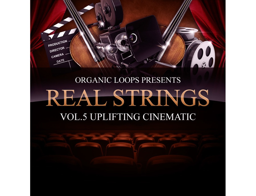 Organic Loops Real Strings Vol. 5 - Uplifting Cinematic