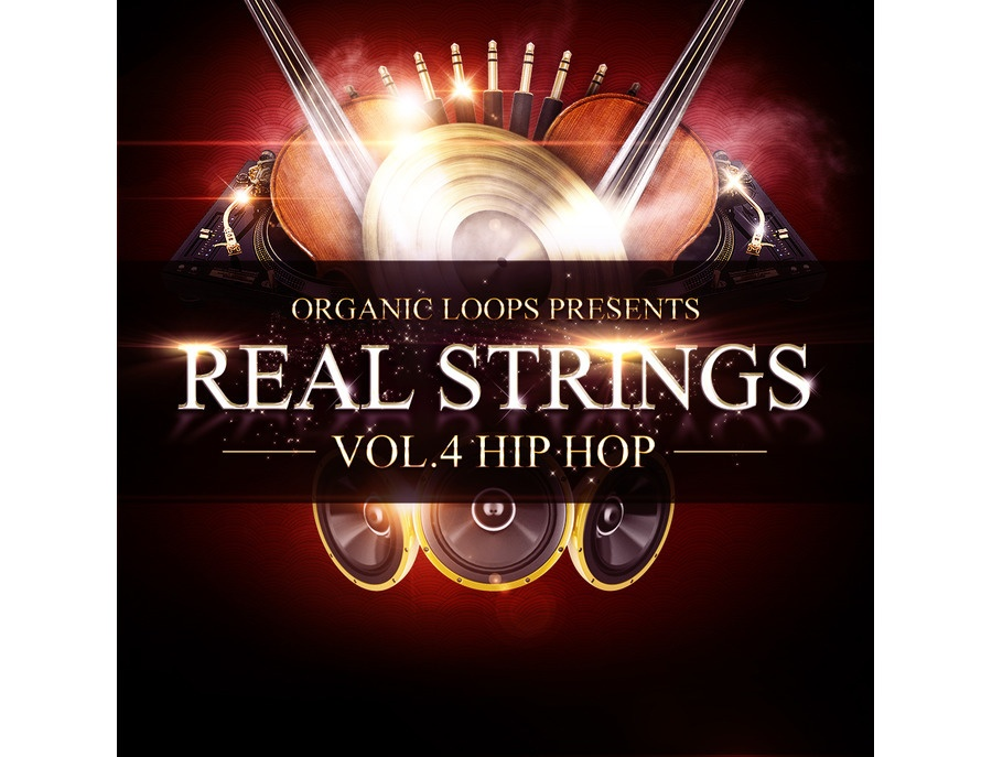 Organic Loops Real Strings Vol.4 - Hip Hop