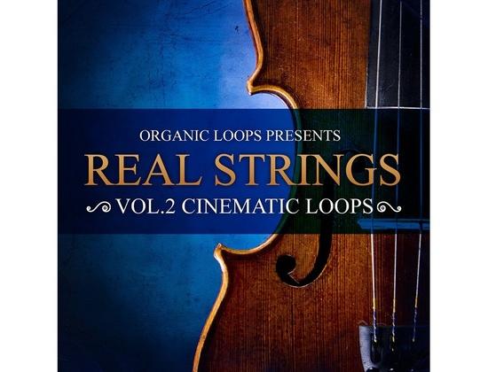 Organic Loops Real Strings Vol. 2 - Cinematic Loops