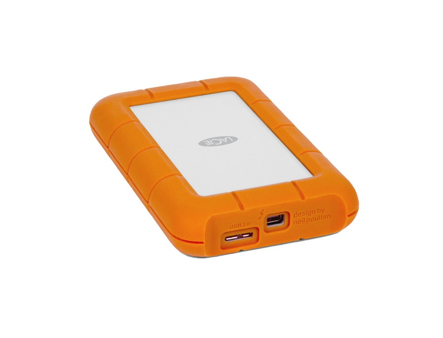 LaCie Rugged USB 3.0 Portable External Hard Drive