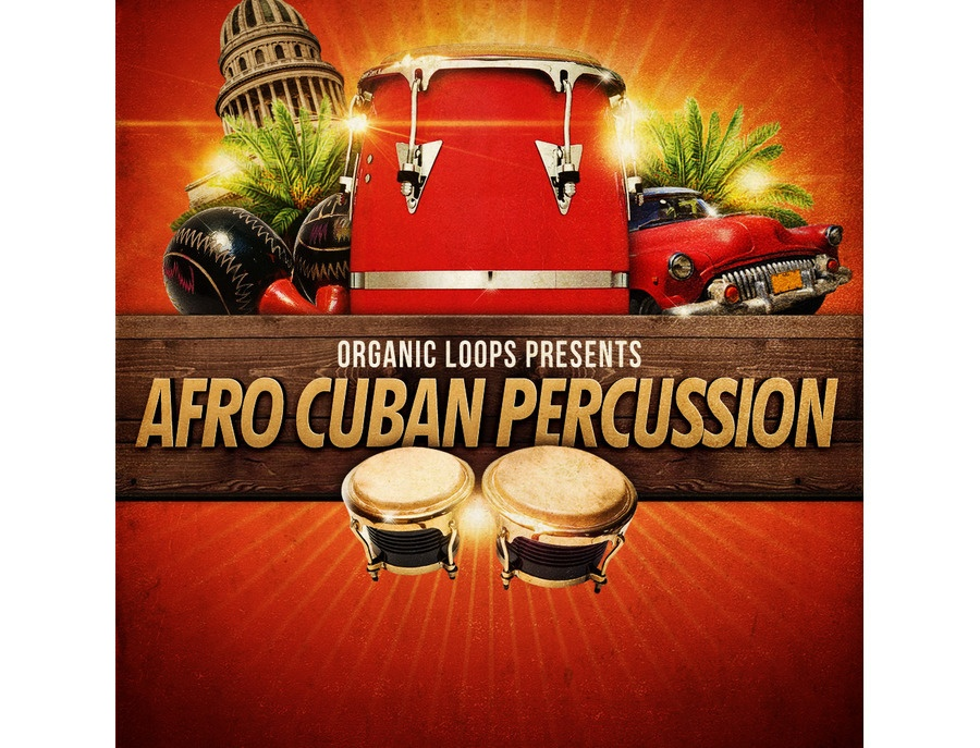 Organic Loops Afro Cuban Percussion