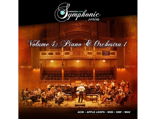 Producer Loops Symphonic Series Vol. 4 - Piano & Orchestra