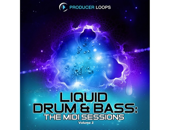 Producer Loops Liquid Drum & Bass: The MIDI Sessions Vol. 2