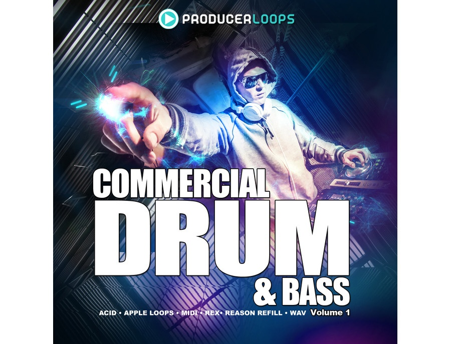 Producer Loops Commercial Drum & Bass Vol. 1