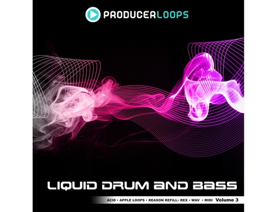 Producer Loops Liquid Drum and Bass Vol 3
