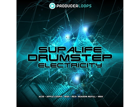 Producer Loops Supalife Drumstep Electricity Vol. 1