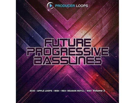 Producer Loops Future Progressive Basslines Vol. 3