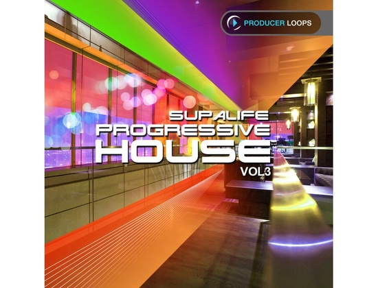 Producer Loops Supalife Progressive House Vol. 3
