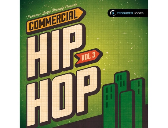 Producer Loops Commercial Hip Hop Vol 3