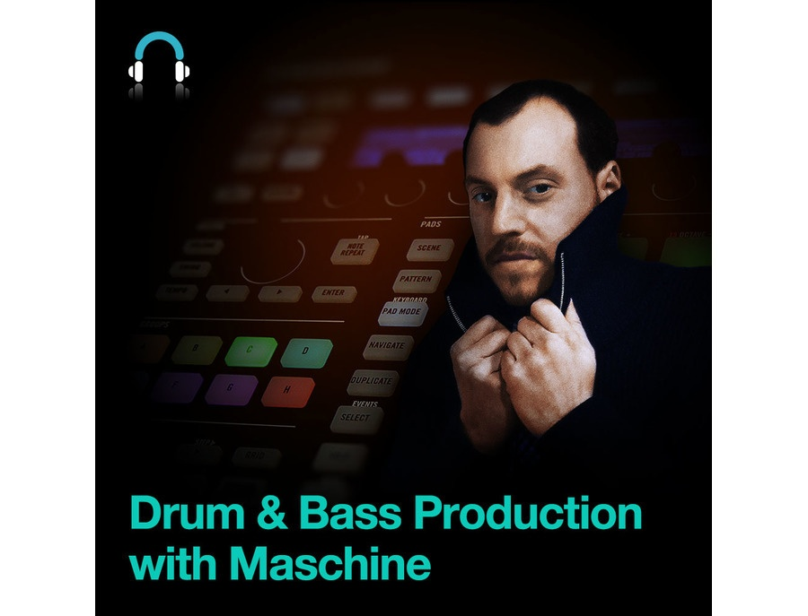 Producertech Drum & Bass Production with Maschine by DJ Fracture
