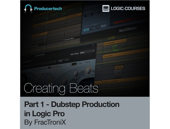 Producertech Dubstep Production in Logic Pro by FracTroniX - Part 1 - Creating Beats