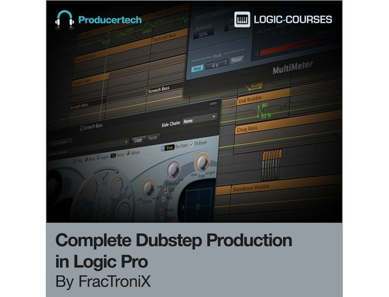 Producertech Dubstep Production in Logic Pro by FracTroniX