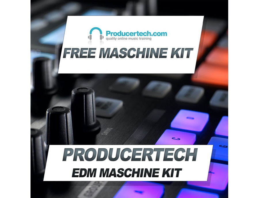 Producertech Free EDM Maschine Kit