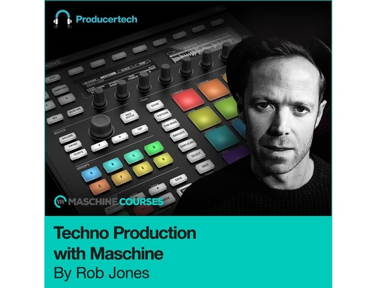 Producertech Techno Production with Maschine