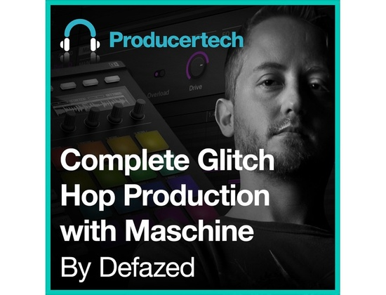 Producertech Complete Glitch Hop Production with Maschine