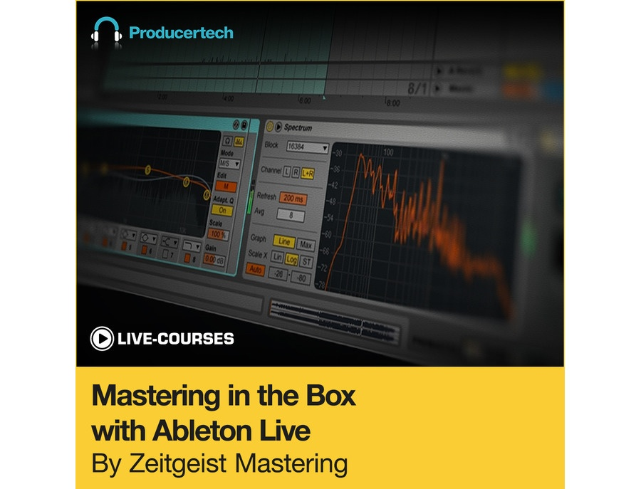 Producertech Mastering in the Box with Ableton Live