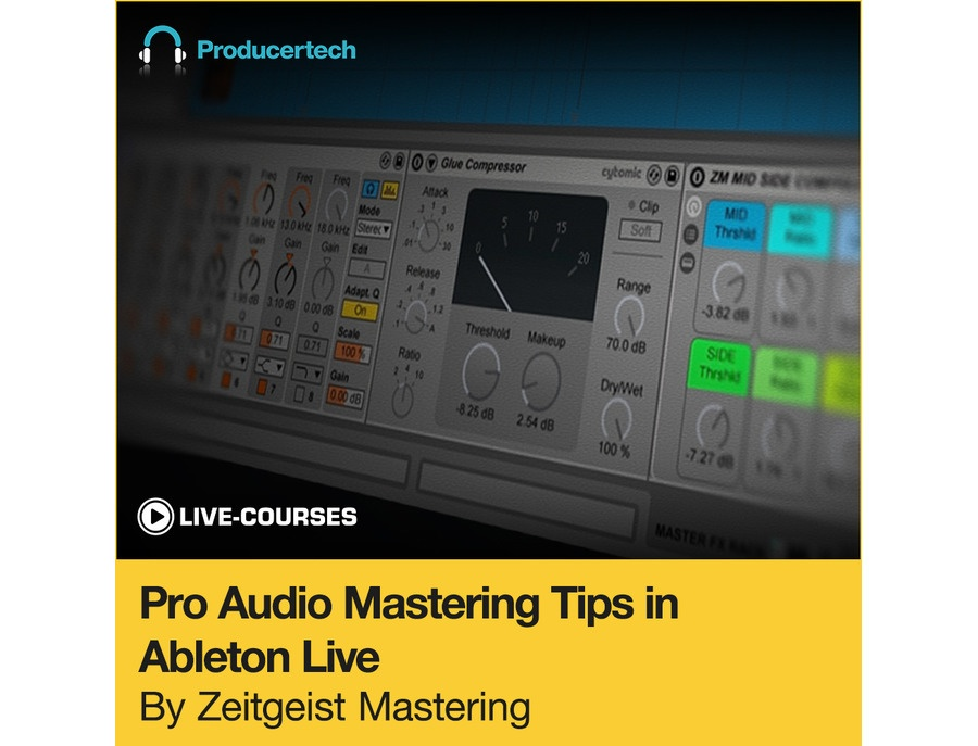 Producertech Pro Audio Mastering Tips in Ableton Live