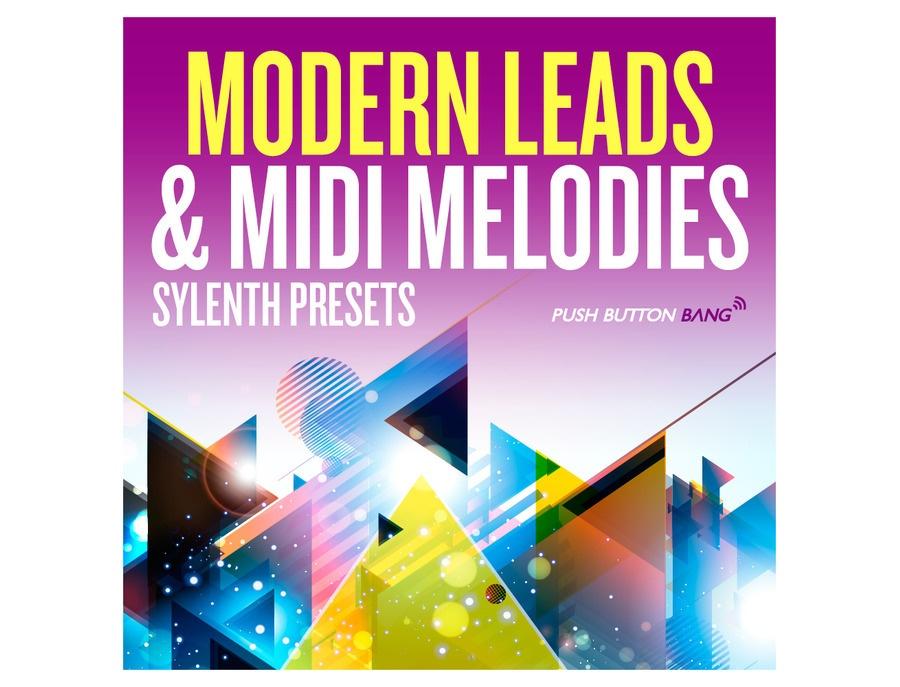 Push Button Bang Modern Leads & MIDI Melodies